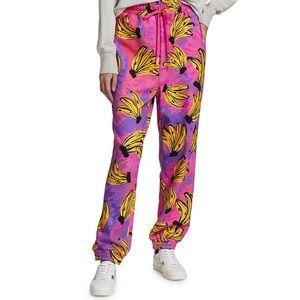 Farm RioTie-Dye Banana Sweatpants. NWT. Rare. Sold out.